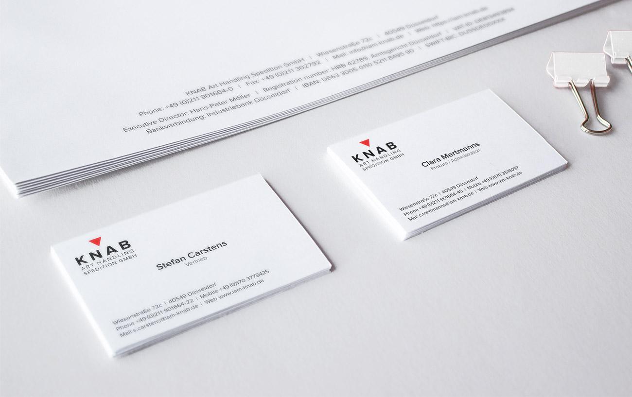 Logo-Design und Geschäftspapiere