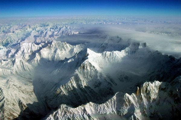 lantul muntos batura din Pakistan