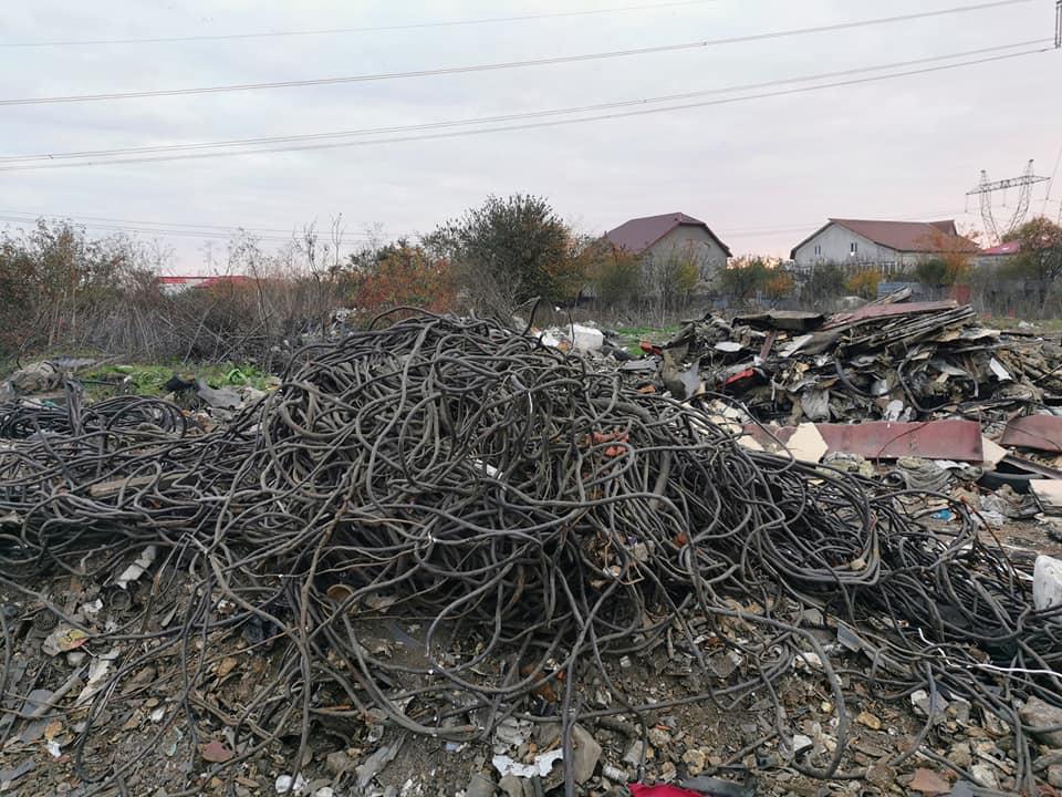 gramezi de deseuri in romania poluarea mediului