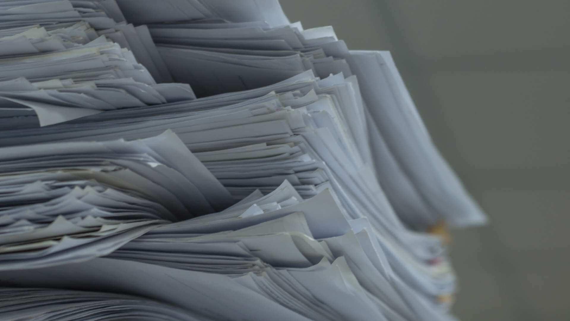 Cum luptăm cu risipa de hârtie? O tonă de hârtie reciclată salvează 17 copaci