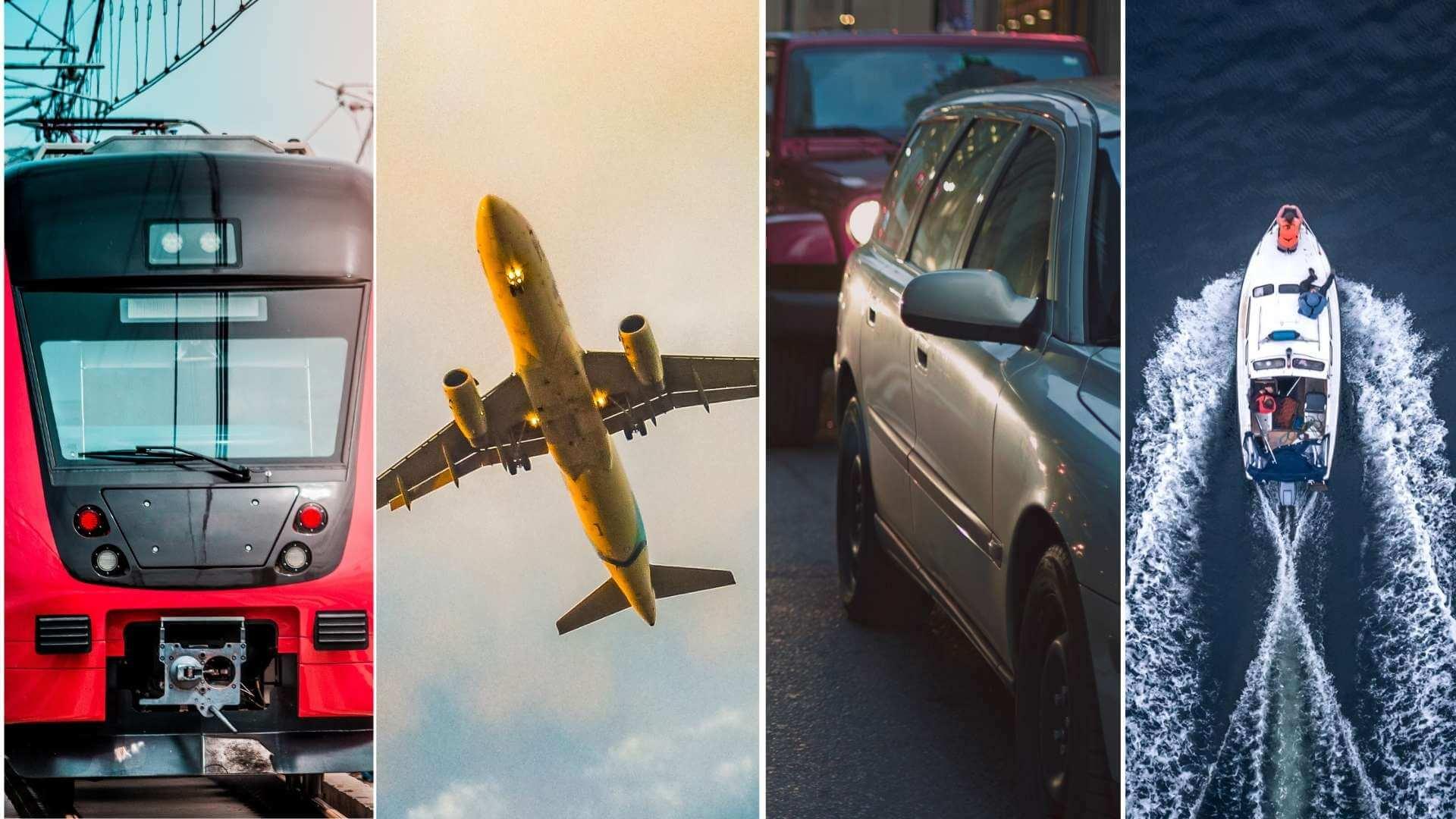 """ANALIZĂ. Tren, avion, mașină, ambarcațiune - care e mai """"verde""""?"""