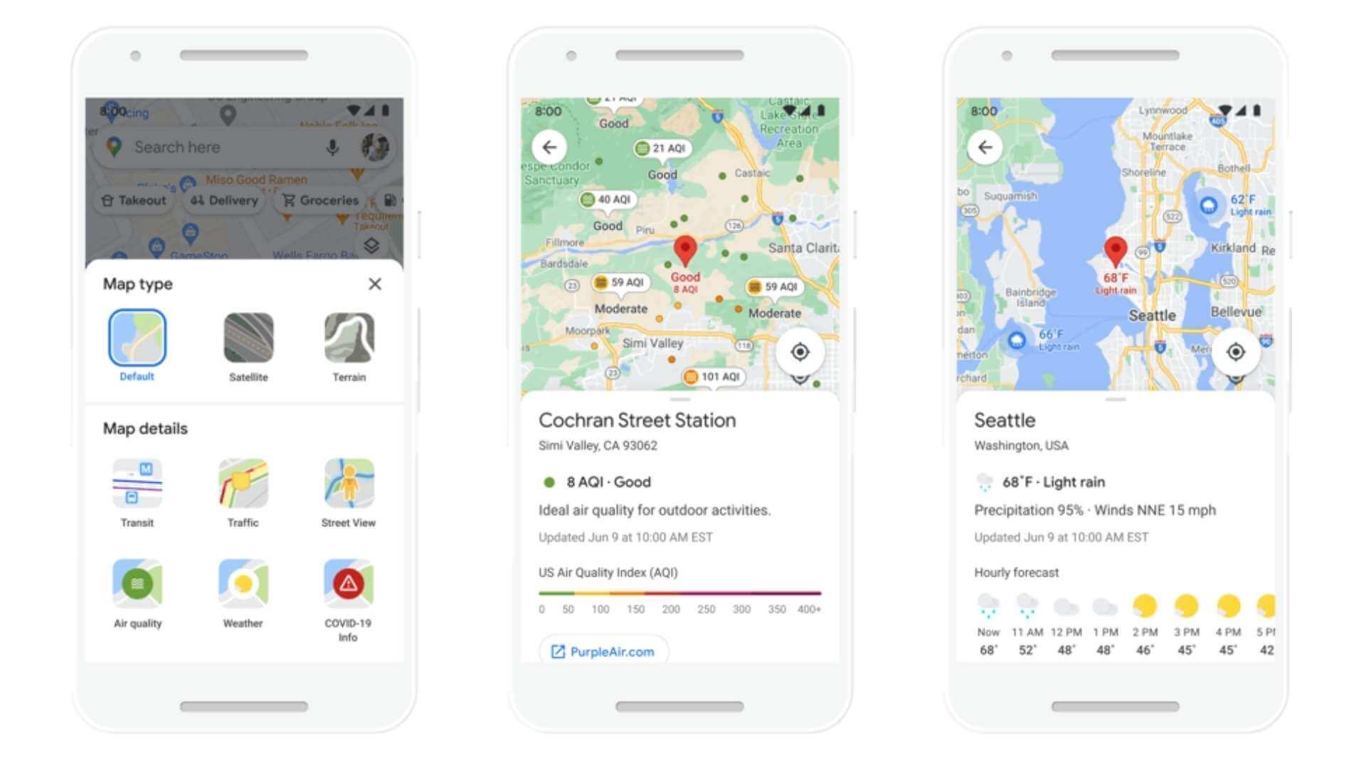"Google Maps le va arăta șoferilor variante de rute ""eco-friendly"""