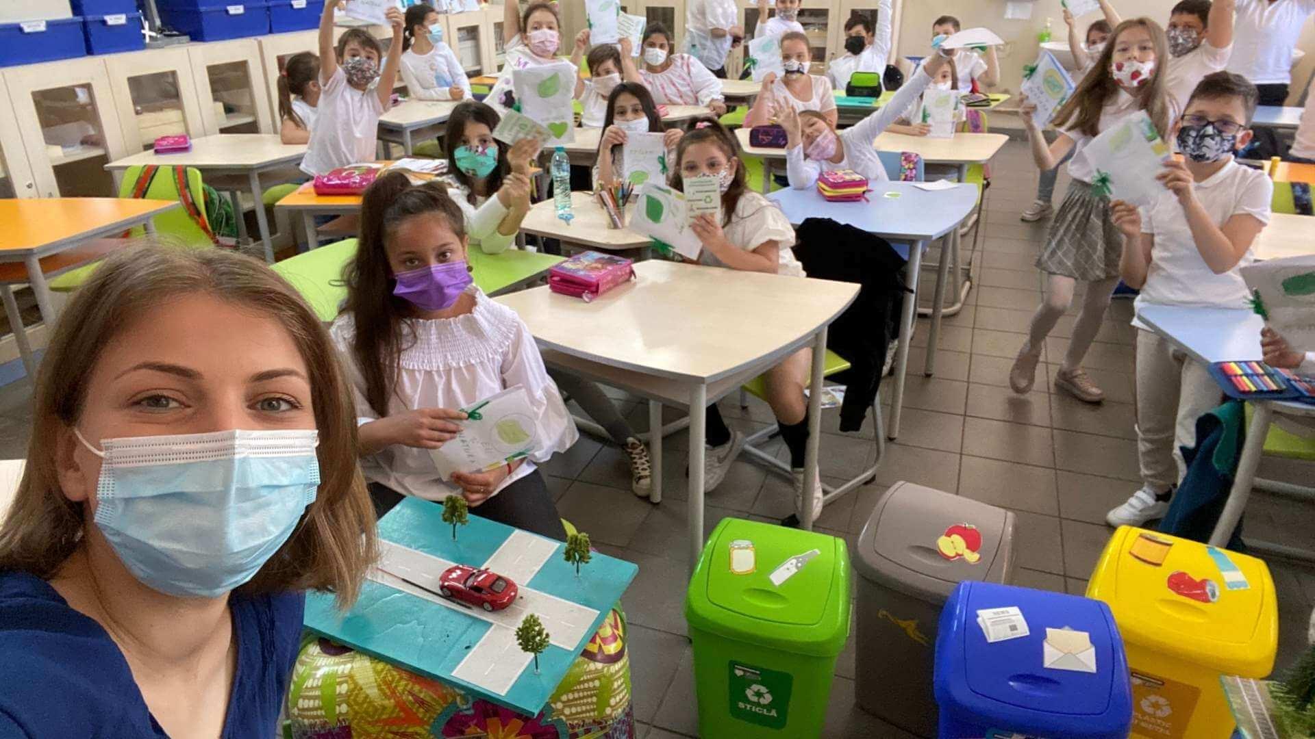 Școala mobilă de mediu a ajuns în Sectorul 2 din București