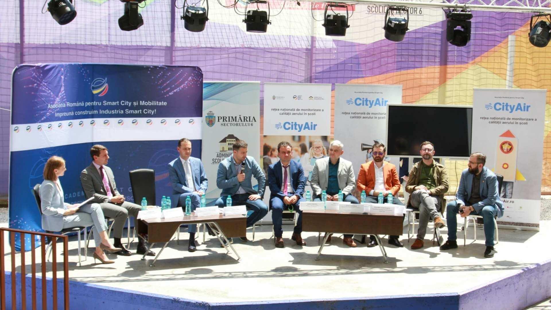Nature Talks, partenerul programului City Air, prima platformă națională de monitorizare a poluării din școli
