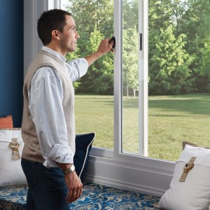 man with new home windows