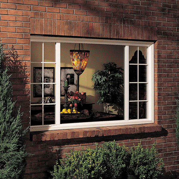Milgard Style Line Window with Grids