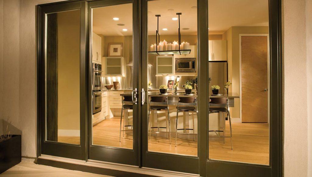 fiberglass patio door