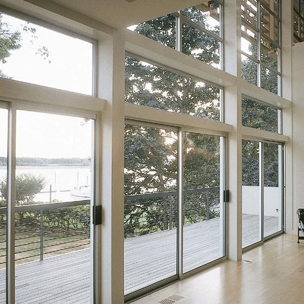 milgard standard aluminum sliding doors