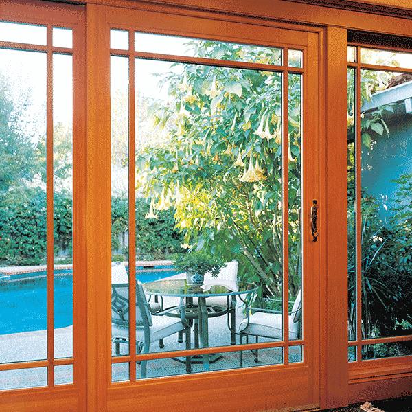 ultra series glass door