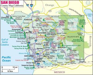 San Diego City Map