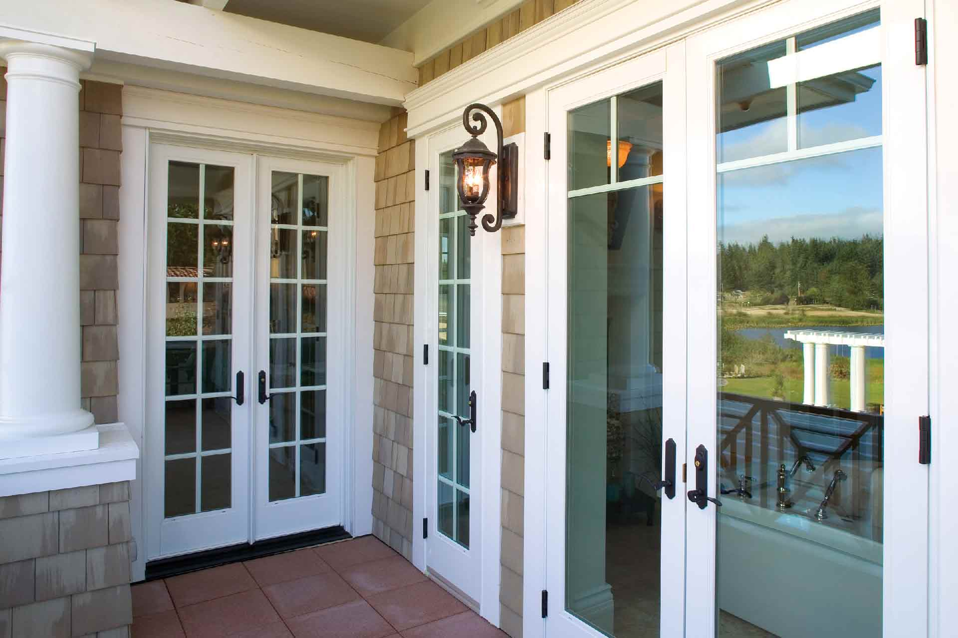 Several Traditional Options for Patio Doors in San Diego