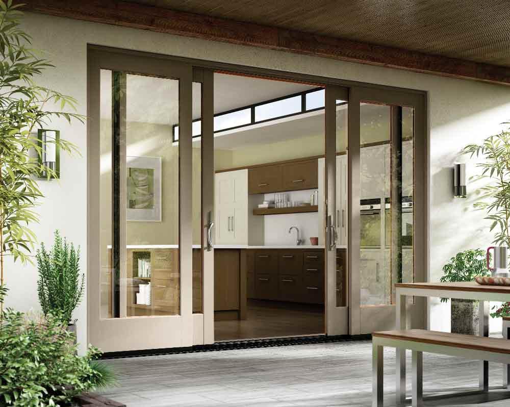 Modern Fiberglass Patio Doors in San Diego