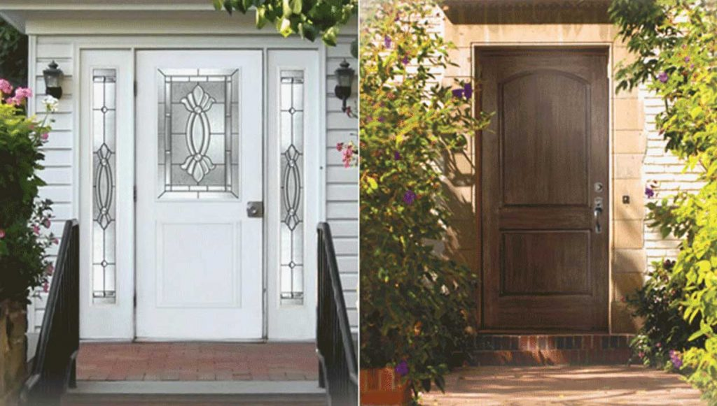 Front Entry Exterior Doors in San Diego