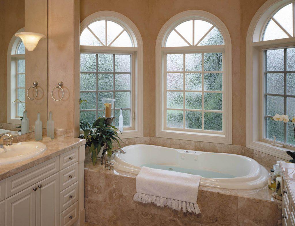 radius bay windows