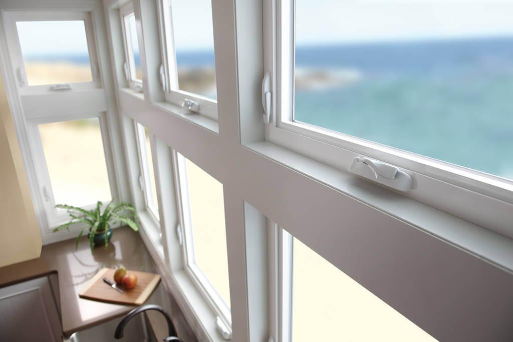 casement windows glass panels