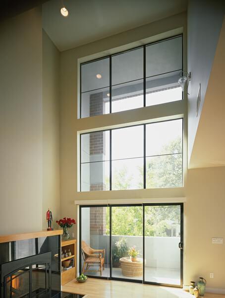 large aluminum windows