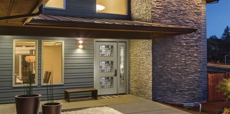 masonite door on modern huse