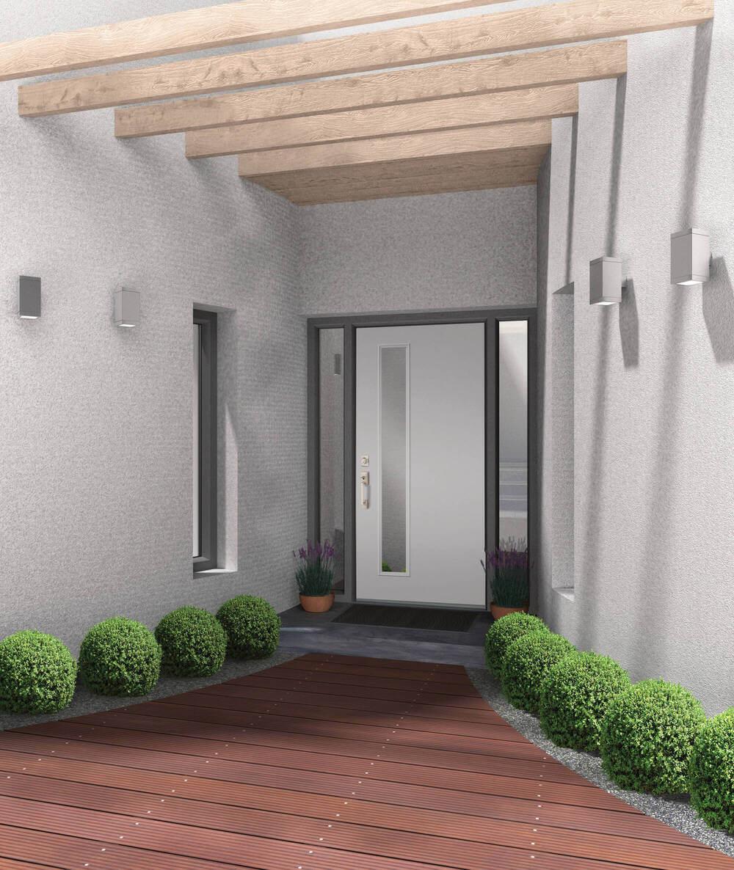 front door steel door