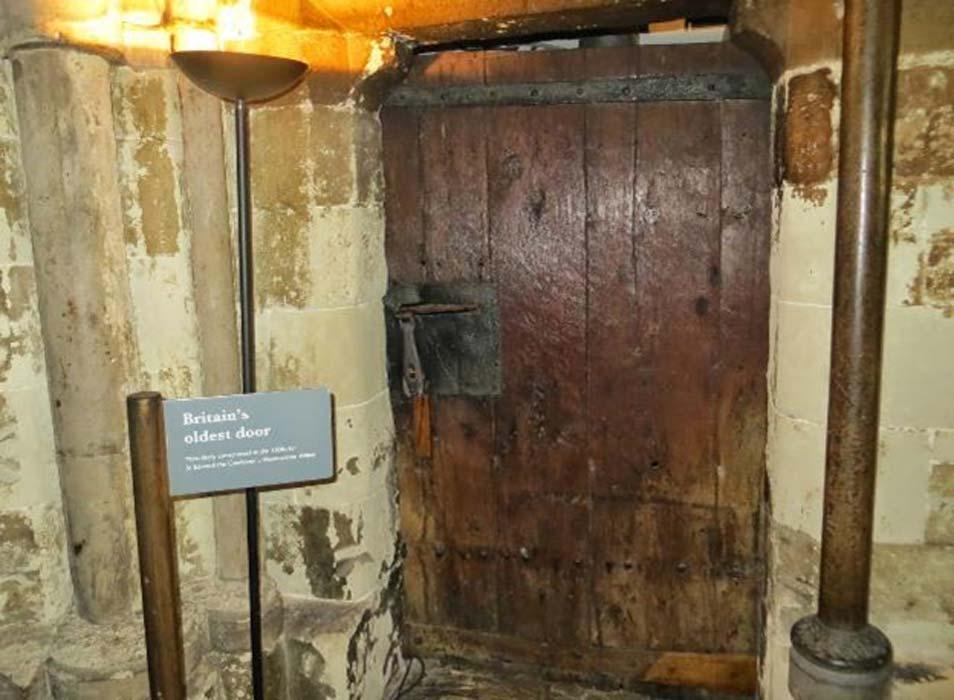 oldest door in england
