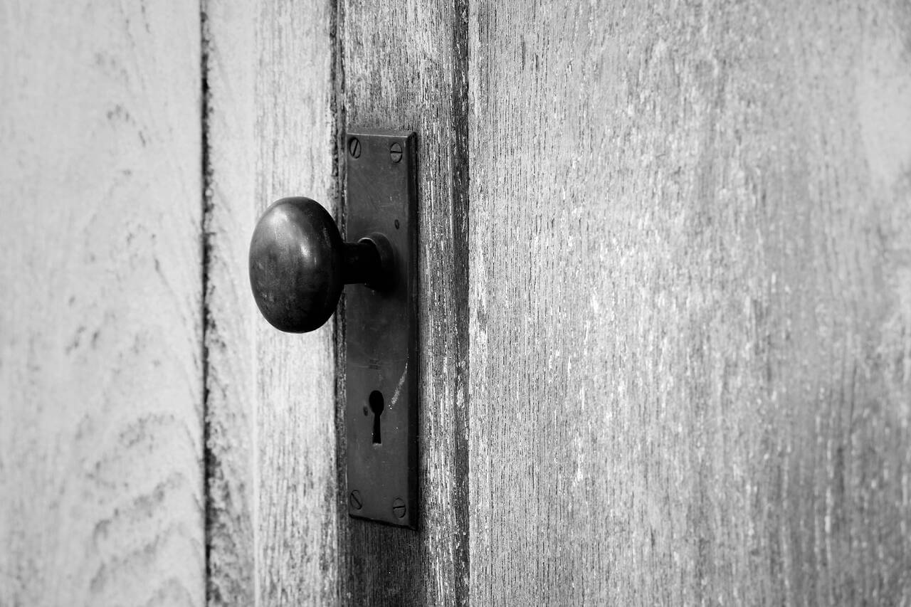 door knob vintage.