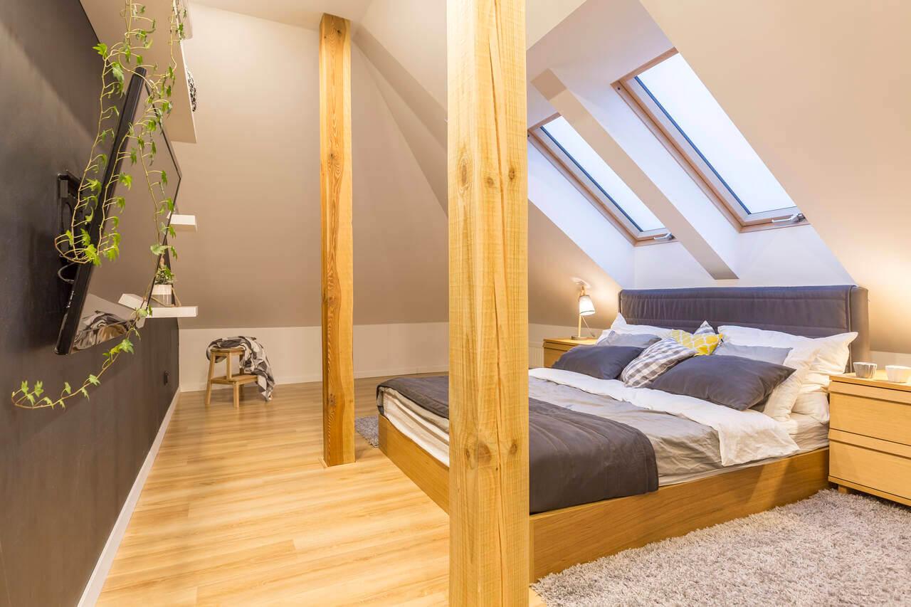skylights in bedroom