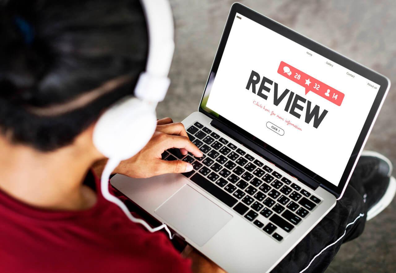 check customer reviews