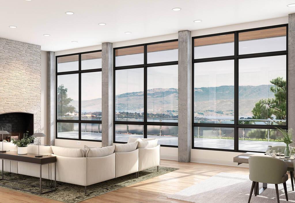 ultra fiberglass in living room