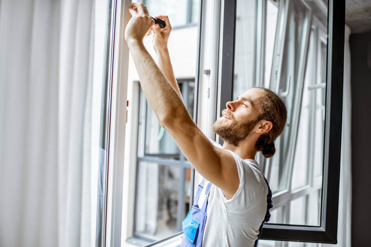 adjusting window rames
