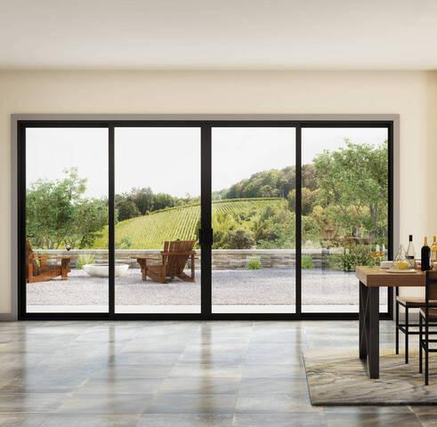 trinsic series slidng patio door