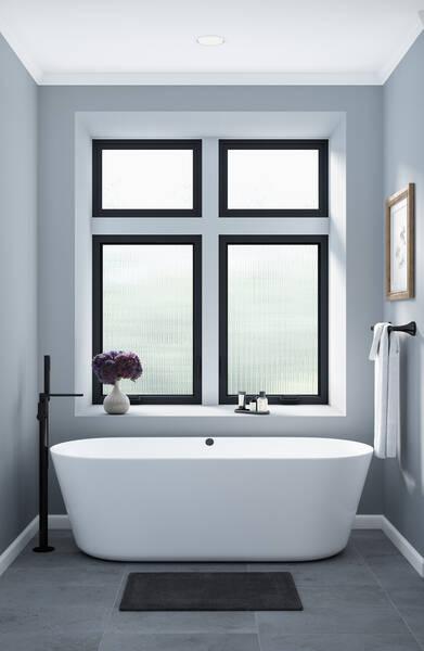 milgard trinsic series vinyl bathroom windows