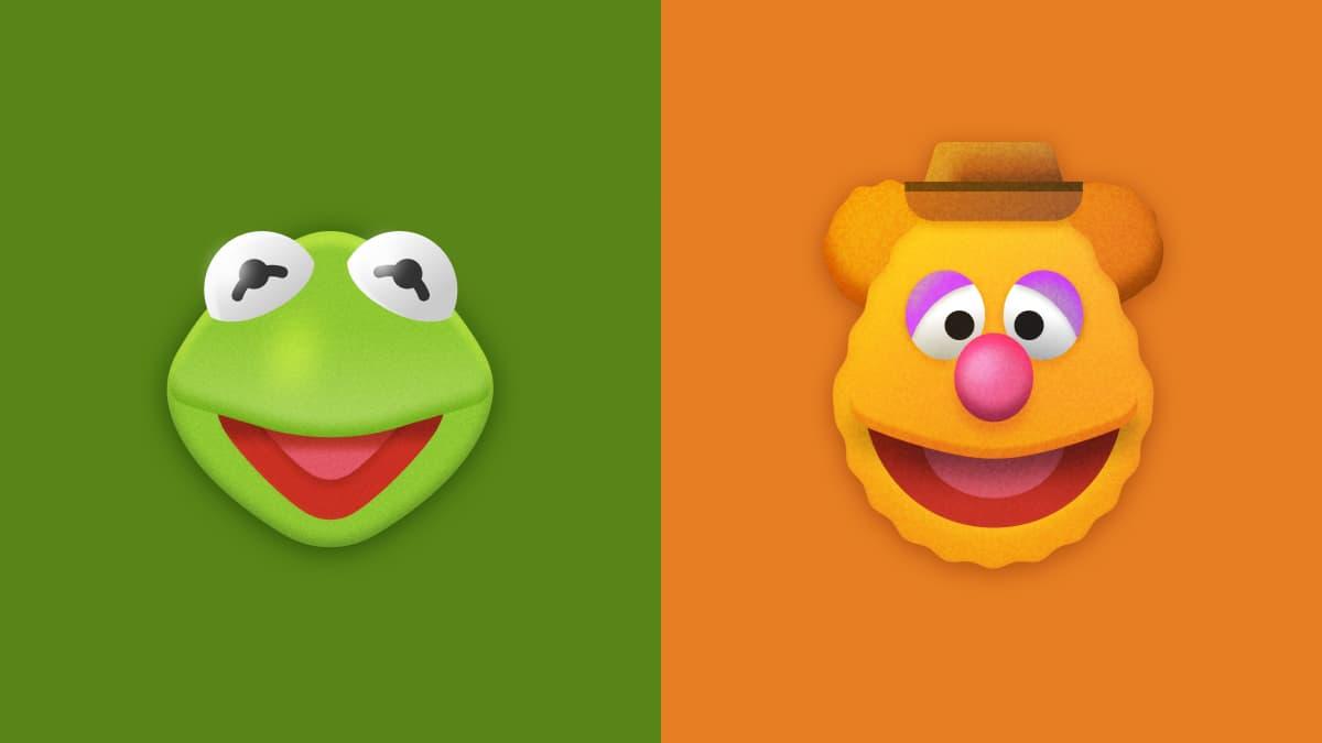 Kermit + Fozzie