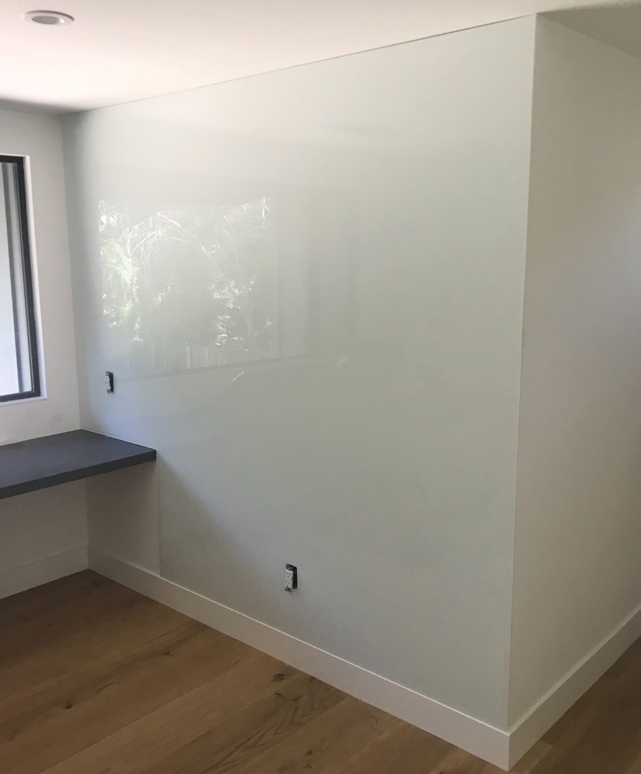 Glass Whiteboard Wall