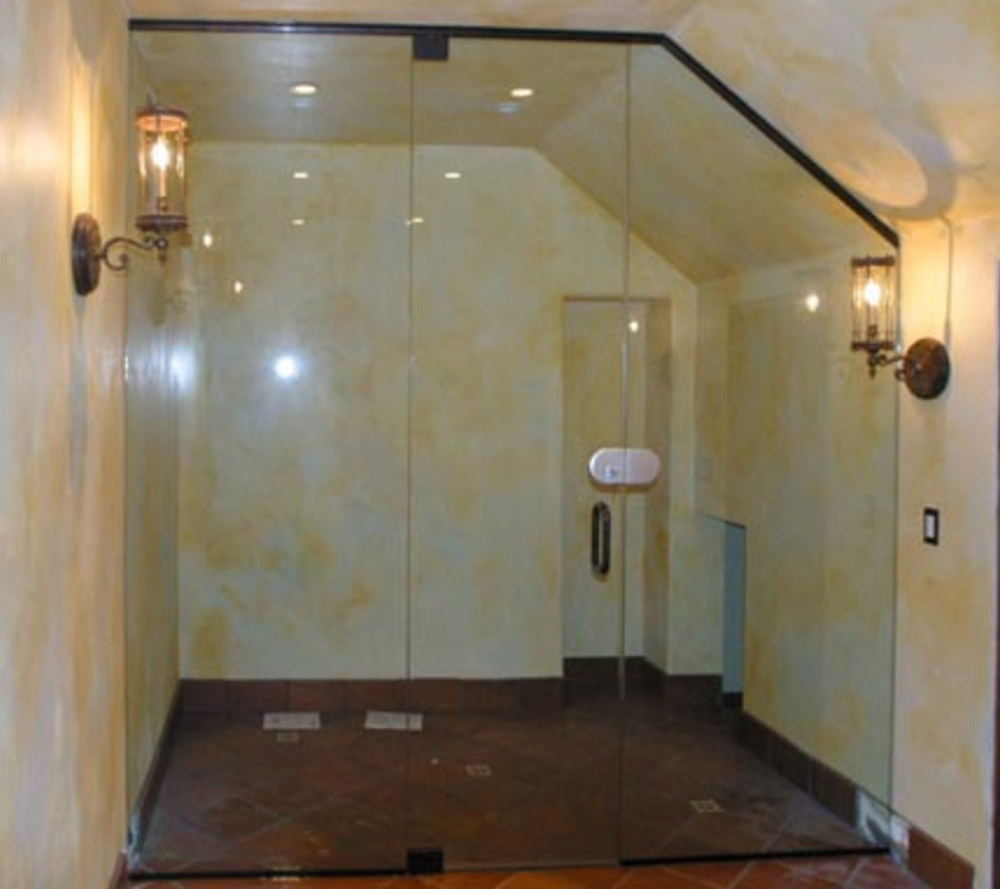 Glass Wine Cellar Doors