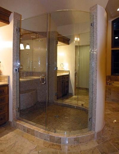 Bent Glass Enclosure