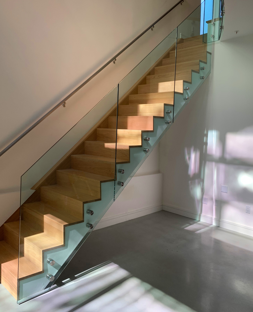 Glass Stair Railing Stand-offs No Cap