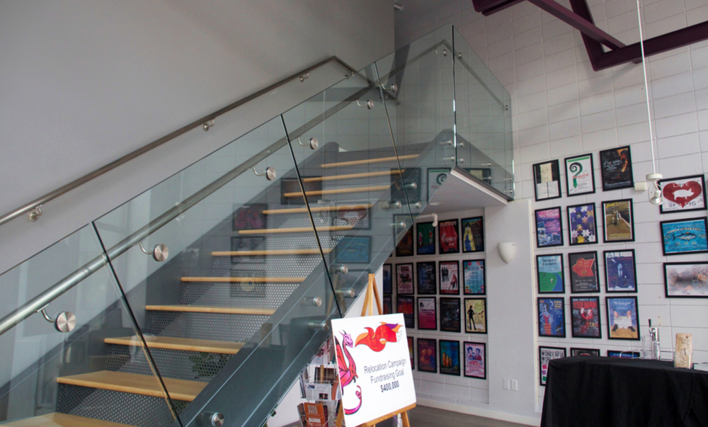 Glass Stair Railing Standoffs