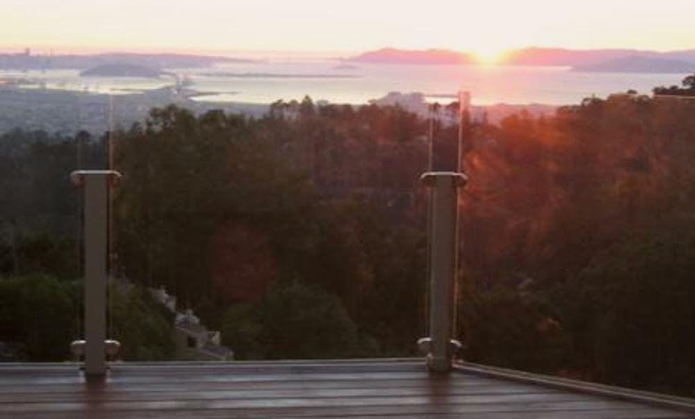 Glass Deck Railing Windscreen