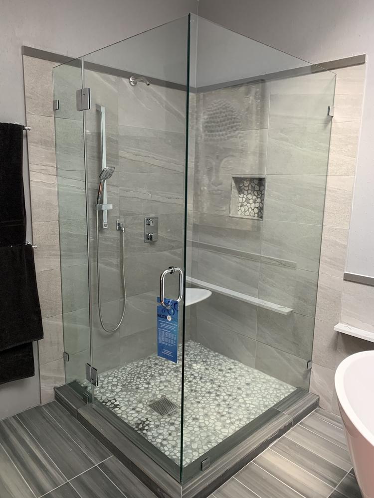 Corner Frameless Shower Door