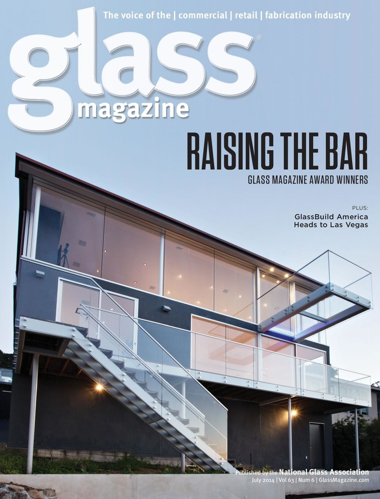 Winner of Most Innovative Decorative Glass Project, Residential