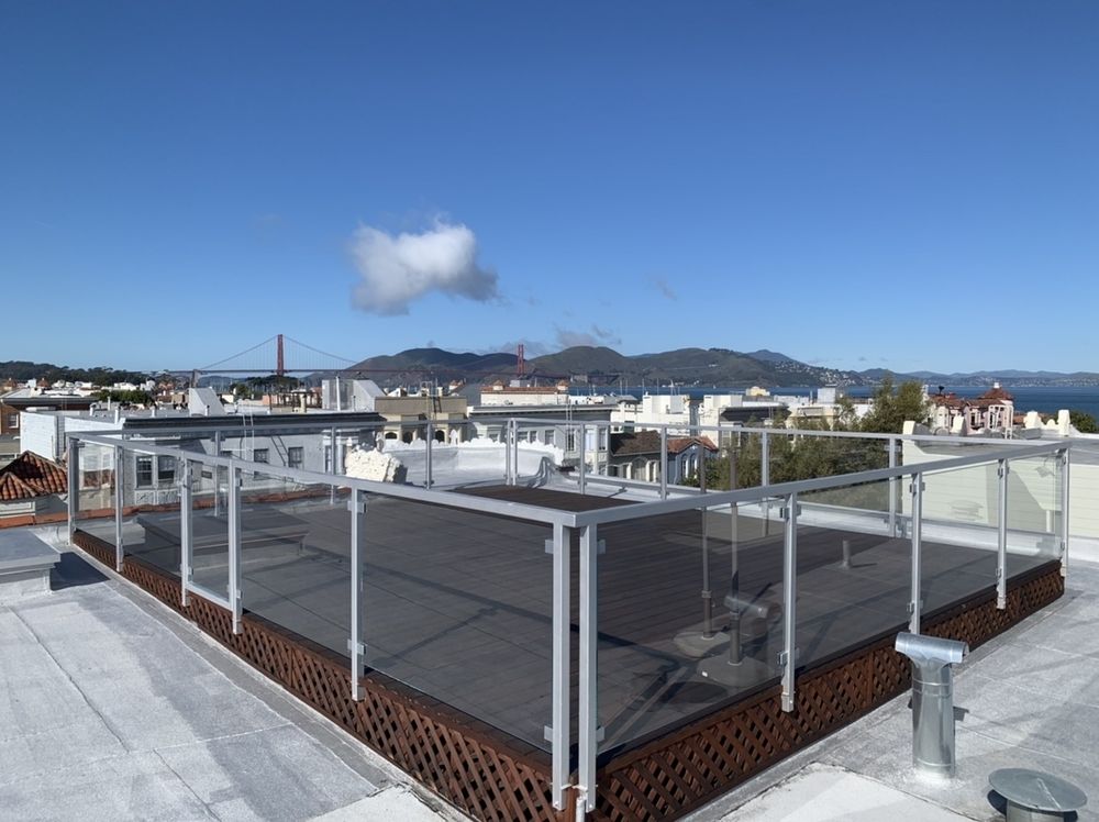Rooftop Deck Railing