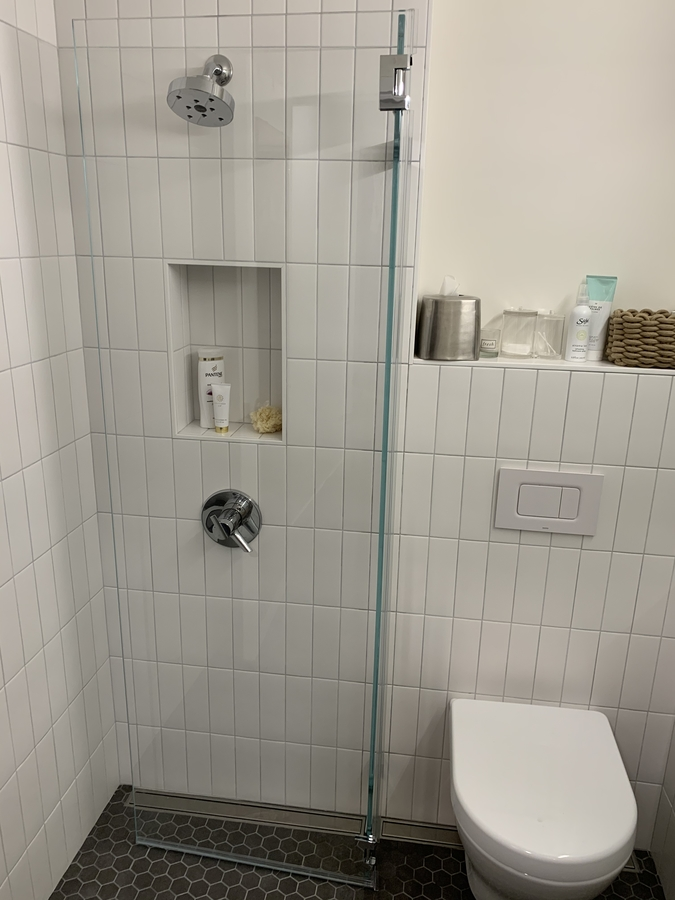 Tiny Space Shower Screen