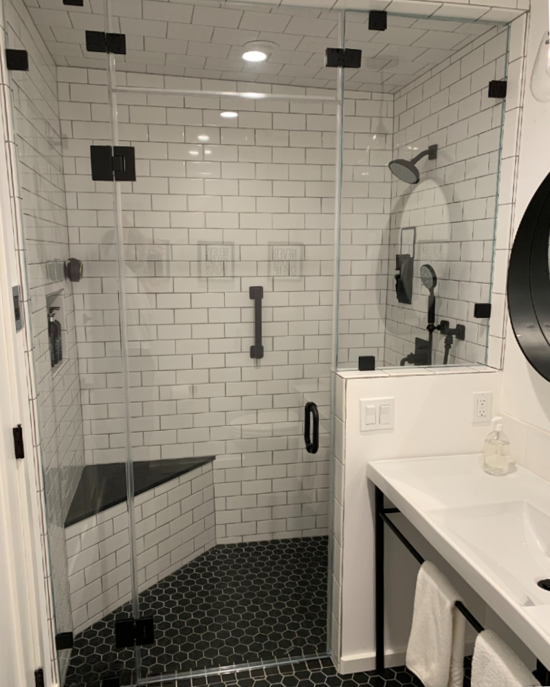 Steam Shower Operable Transom
