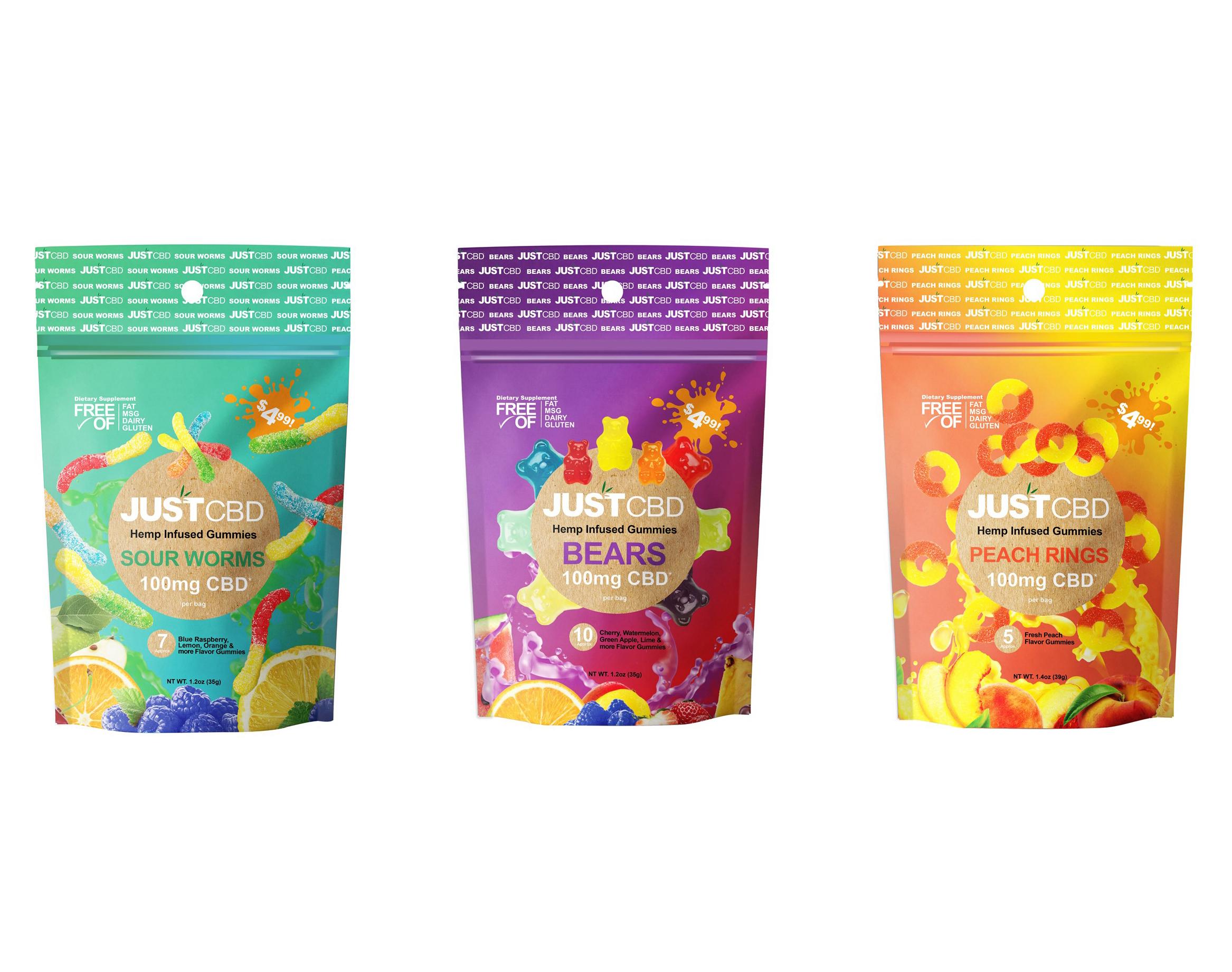 Gummy Packs (100mg)