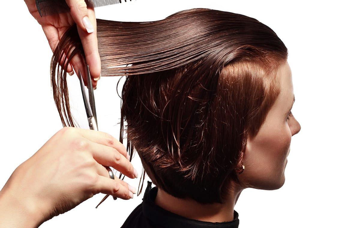 Taglio di capelli donna
