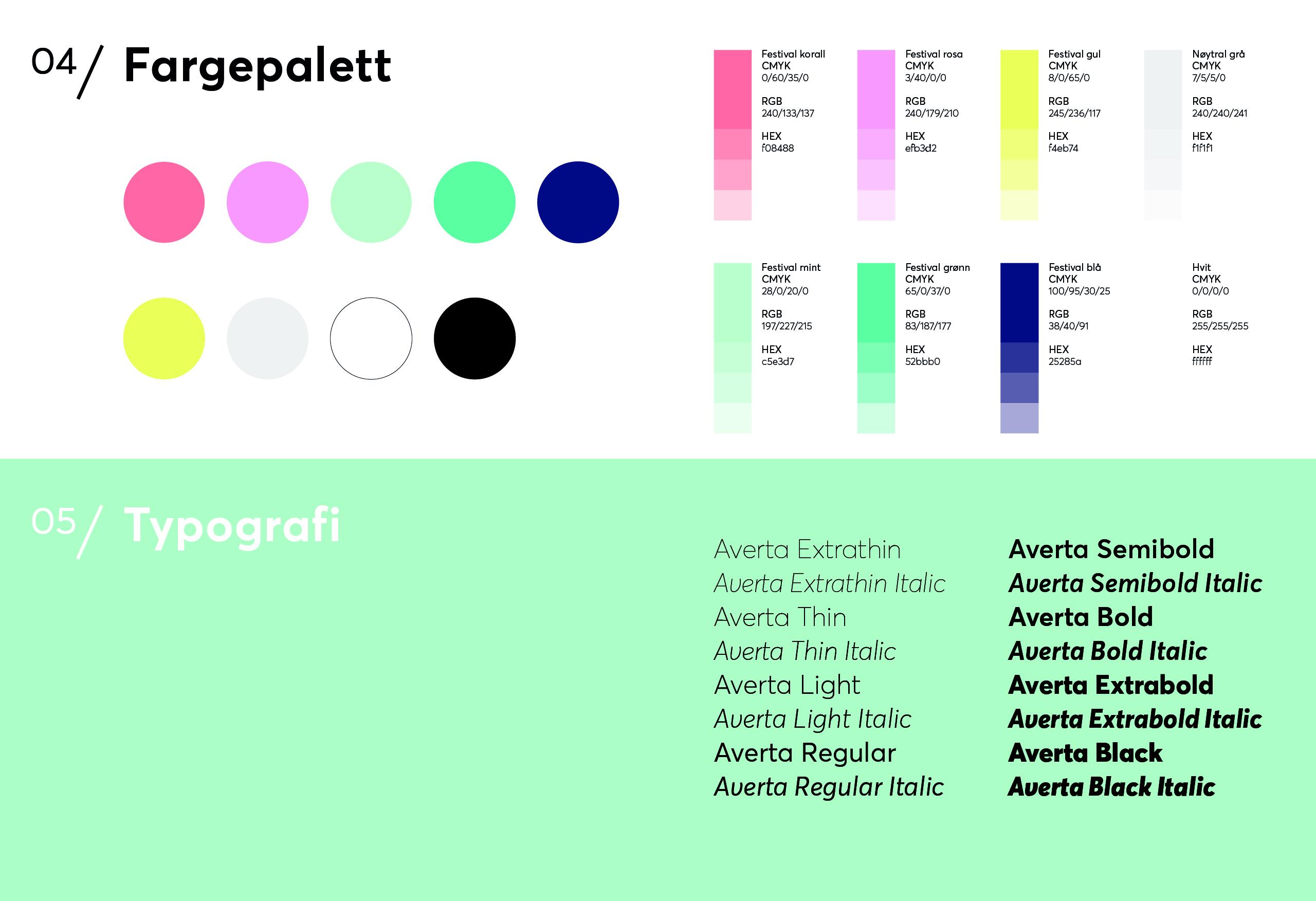 Ny fargeprofil til Nannestadfestivalen 2021