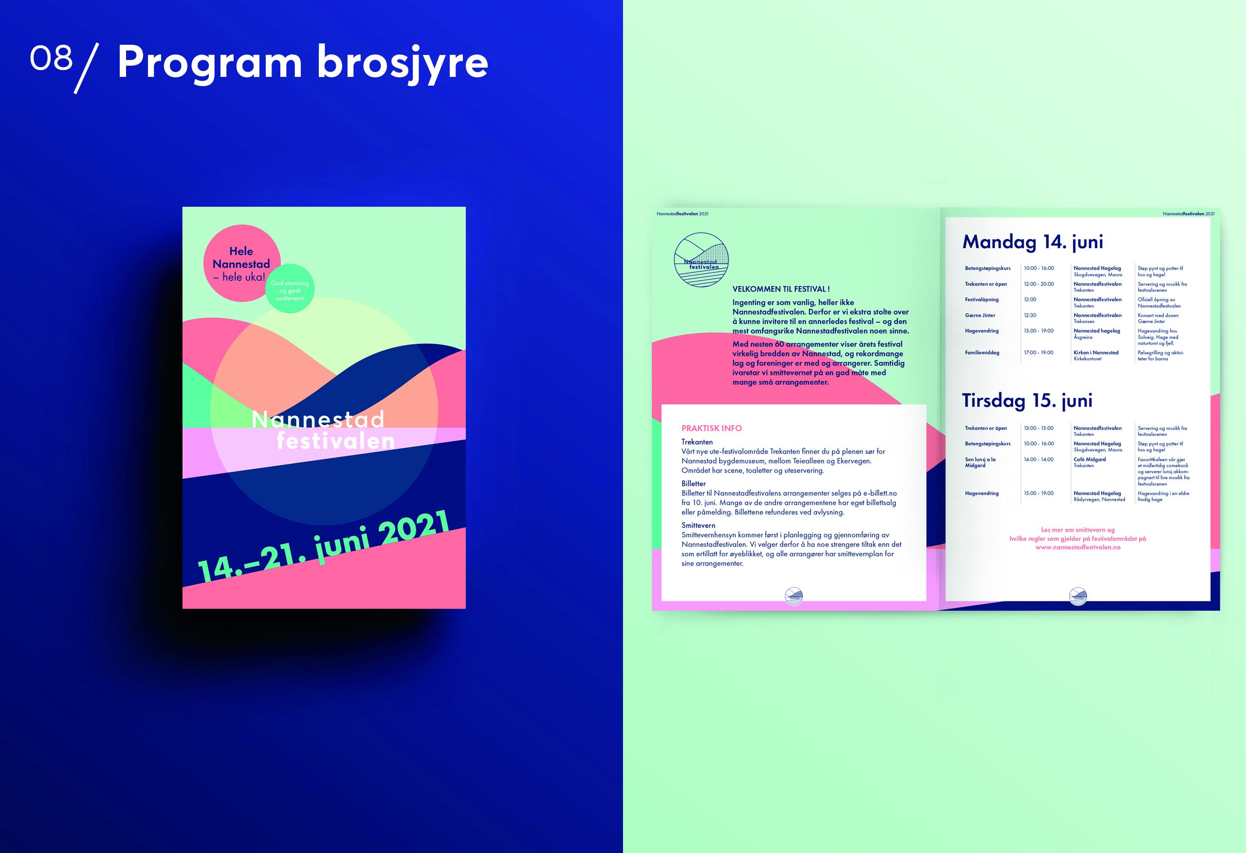 Program og poster til Nannestadfestivalen 2021
