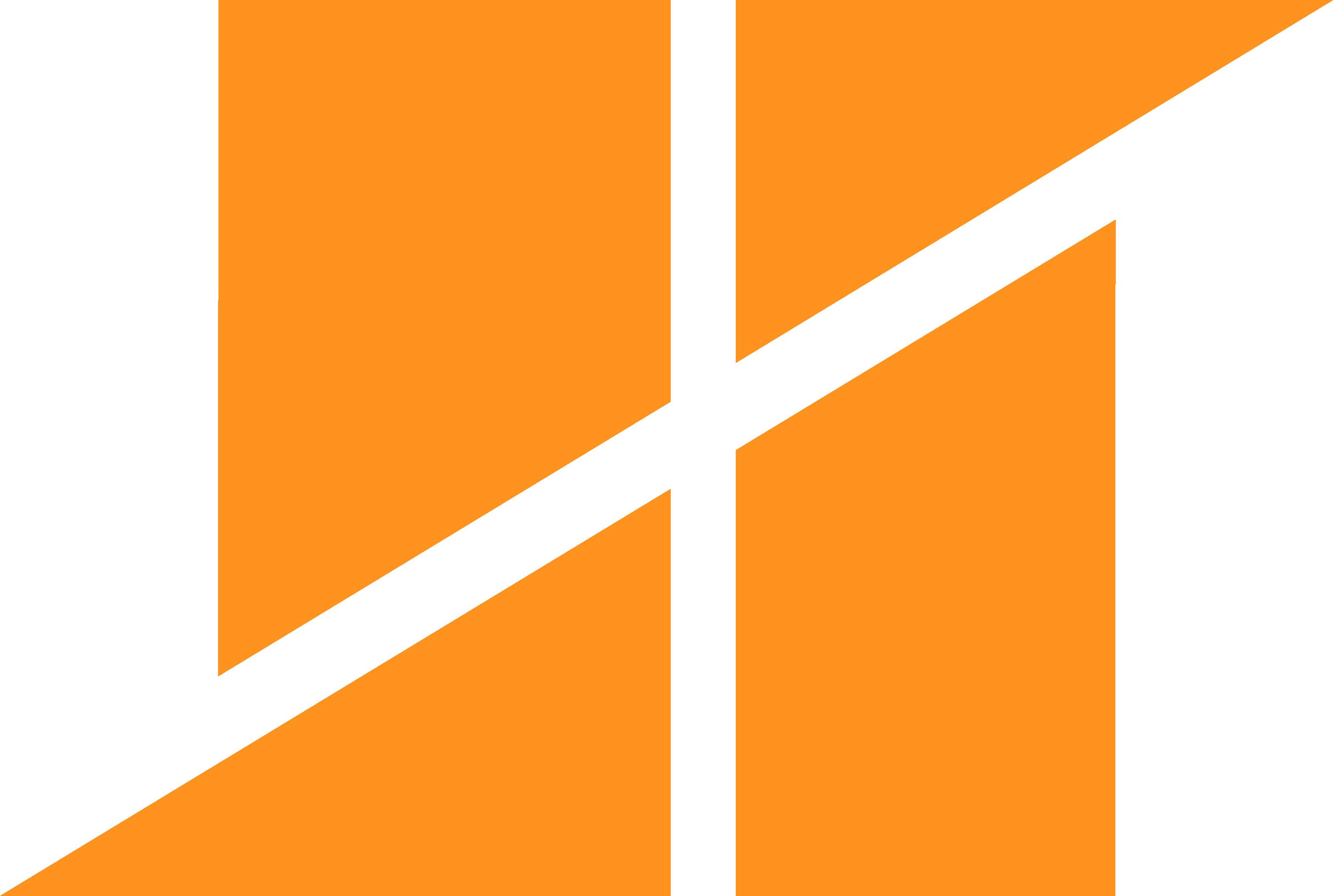 Sqwobble logo transparent in orange