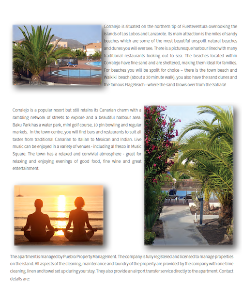Brochure page back