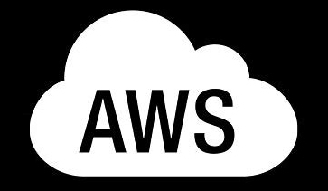 AWS cloud powered branded icon
