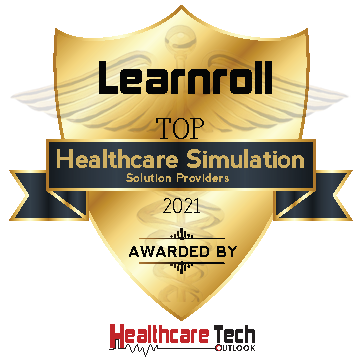 Award plaque image received by learnroll